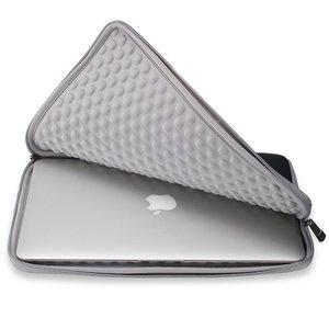 "Чехол-карман для Apple MacBook Pro 15""/Pro Retina 15"" - Runetz Neoprene Sleeve черный + серый"