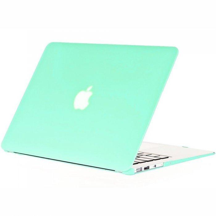 "Чехол-накладка для Apple MacBook Air 13"" - Kuzy Rubberized Hard Case мятный"
