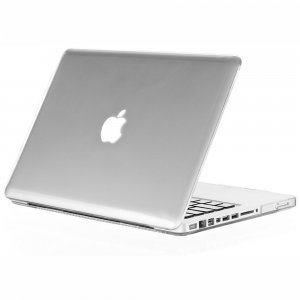"Чехол-накладка для Apple MacBook Pro 15"" - Kuzy Rubberized Hard Case прозрачный"
