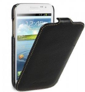 Чехол-флиппер для Samsung Galaxy Ace Duos S6802 - Melkco Jacka чёрный