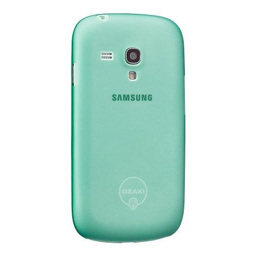 Чехол-накладка для Samsung Galaxy S3 mini - Ozaki O!Coat 0.4 Jelly зелёный