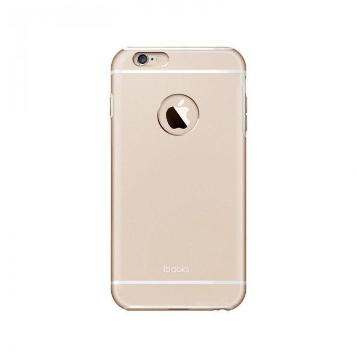 Защитный чехол iBacks Armour золотой для iPhone 6/6S