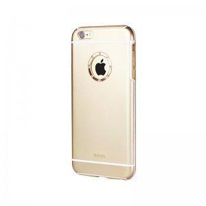 Чехол-накладка для Apple iPhone 6 Plus/6S Plus - iBacks Armour Crystal Diamond Cartier золотистый
