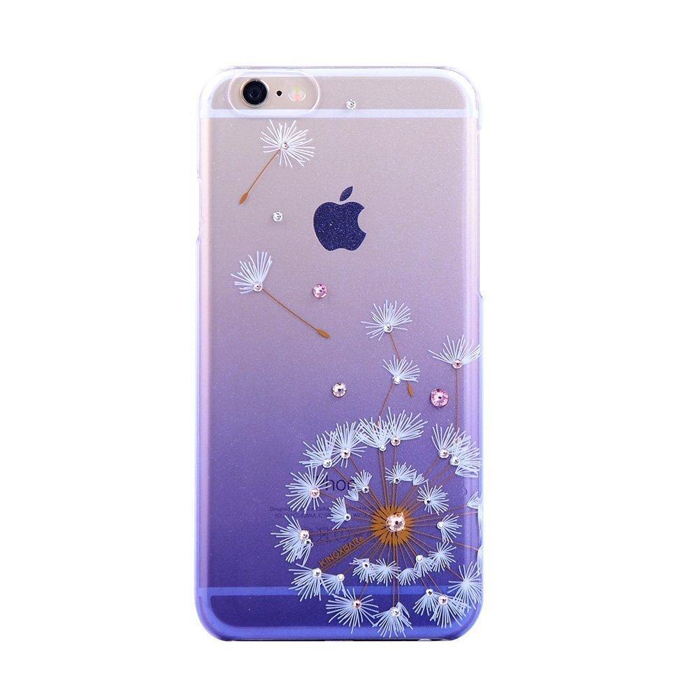 Чехол-накладка для Apple iPhone 6/6S - Kingxbar Dandelion Flower фиолетовый