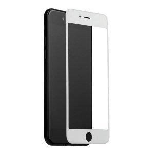 Защитное стекло Coteetci Silk Screen Printed Full-Screen белое для iPhone 6 Plus