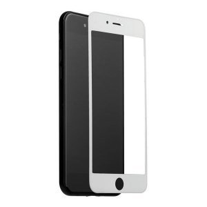Защитное стекло Coteetci Silk Screen Printed Full-Screen белое для iPhone 6 Plus/6S Plus