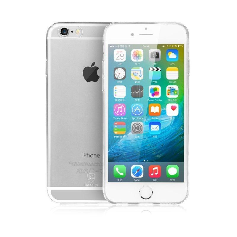 Чехол-накладка для Apple iPhone 6/6S - Baseus Sky прозрачный