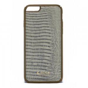 Чехол-накладка для Apple iPhone 6/6S - OCCA Lizard серый