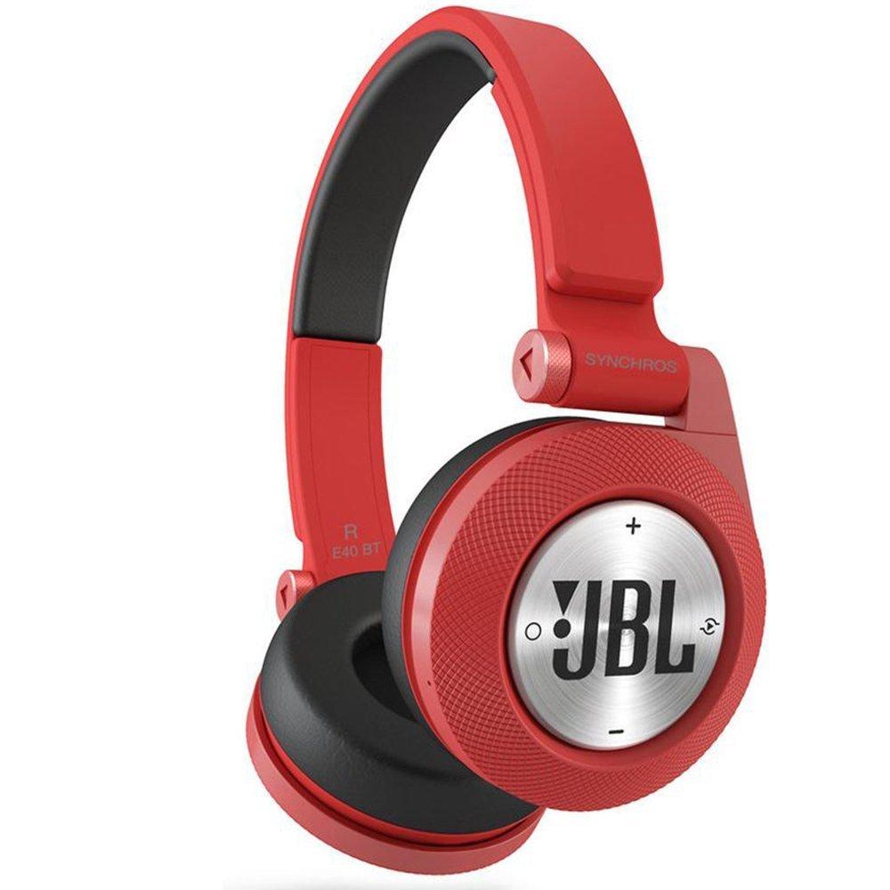 Наушники JBL Synchros E40BT красные