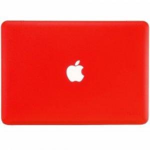 "Чехол-накладка для Apple MacBook Air 13"" - Kuzy Rubberized Hard Case красный"