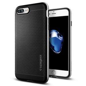 Защитный чехол Spigen Neo Hybrid черный + серебристый для iPhone 8 Plus/7 Plus