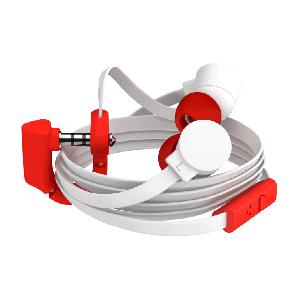 Наушники Coloud Pop Blocks белый + красный