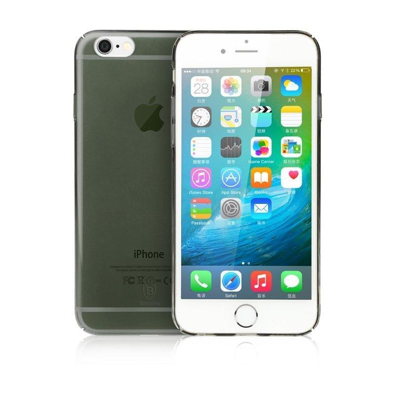 Чехол-накладка для Apple iPhone 6/6S - Baseus Sky черный