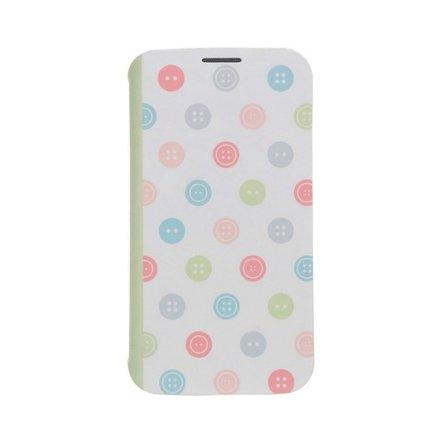 Чехол-книжка для Samsung Galaxy S4 - Ozaki O!coat Fancy разноцветный
