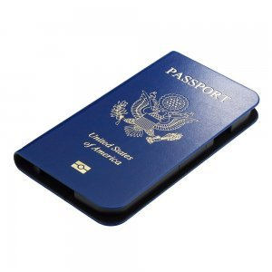 Чехол-книжка для Samsung Galaxy S4 - Ozaki O!coat Worldpass USA синий