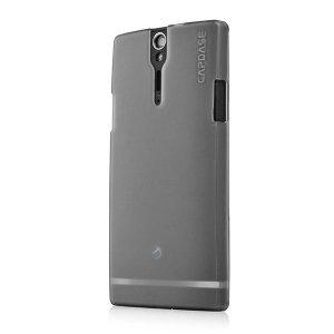 Чехол-накладка для Sony Xperia S LT26i - Capdase Soft Jacket Xpose чёрный