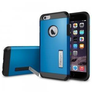 Противоударный чехол Spigen Tough Armor синий для iPhone 6/6S Plus