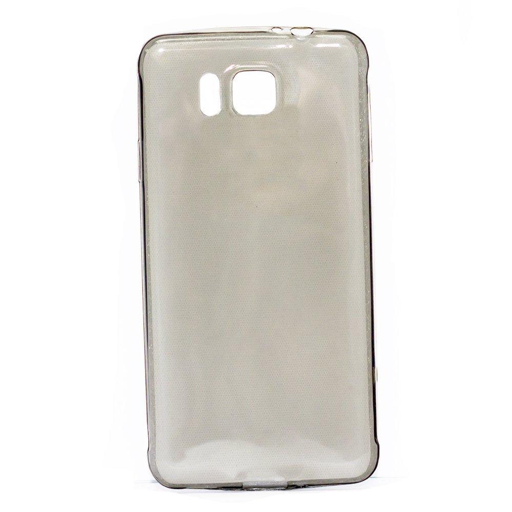 Чехол-накладка для Samsung Galaxy Alpha SM-G850F - 0,3мм черный