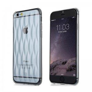 3D чехол Baseus Air bag Case прозрачный для iPhone 6/6S Plus