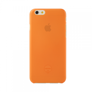 Чехол-накладка для Apple iPhone 6 - Ozaki O!coat 0.3 Jelly оранжевый