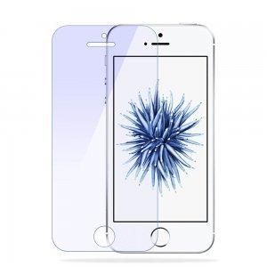Защитное стекло для iPhone 5/5c/5s/SE - Baseus Anti Blue Light, 0.2мм, прозрачное