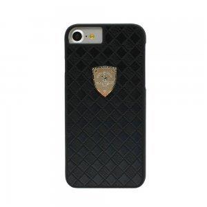 Кожаный чехол Polo Fyrste черный для iPhone 8/7/SE 2020
