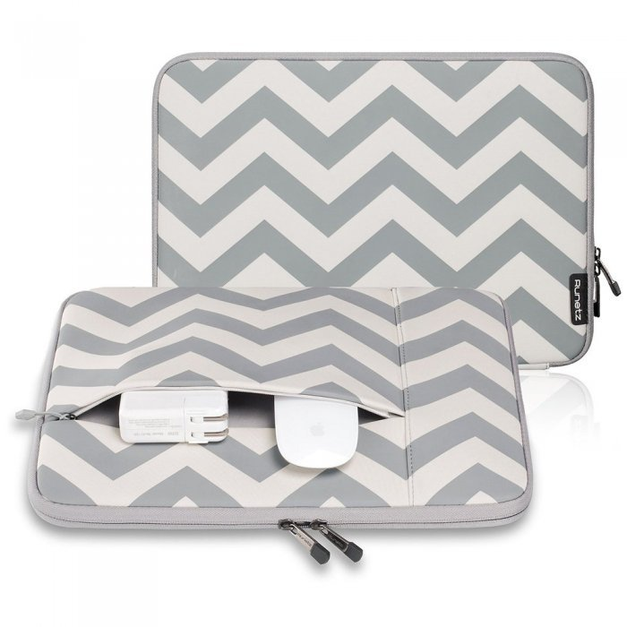 "Чехол-карман для Apple MacBook Pro 15""/Pro Retina 15"" - Runetz Neoprene Sleeve серый"