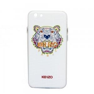 Чехол с рисунком WK Kenzo Paris белый для iPhone 6/6S