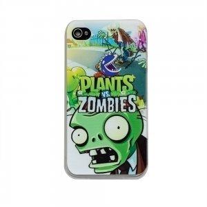 Чохол з малюнком Plants & Zombies для iPhone 4 / 4S