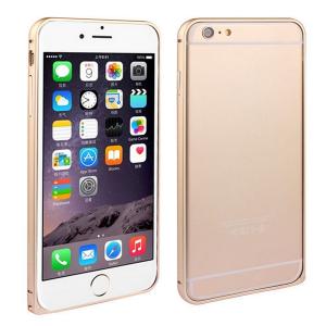 Чехол-бампер для Apple iPhone 6 Plus - Arc золотистый