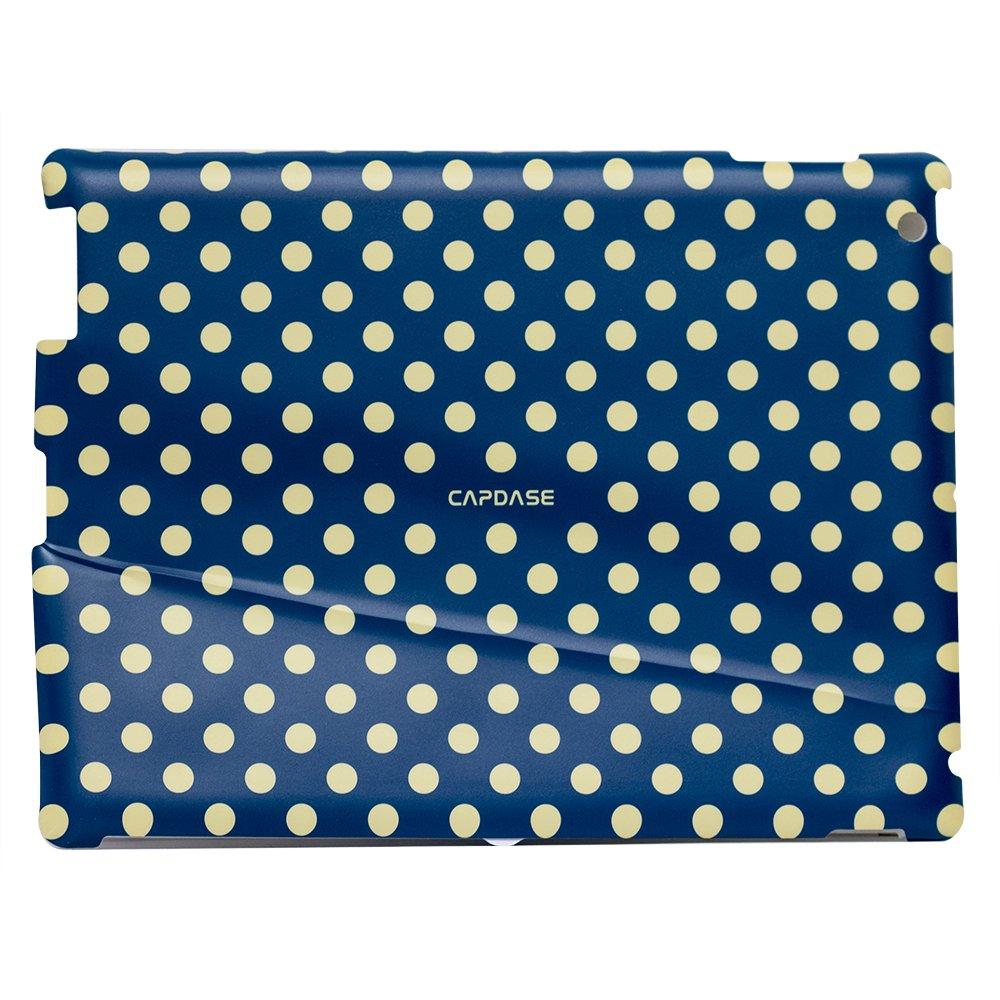 УЦЕНКА! Наклейка для Apple iPad 2/3/4 - Capdase ProSkin Polka синяя