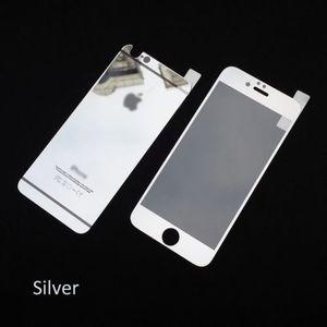 Защитное стекло для Apple iPhone 6 - зеркальное, серебристое