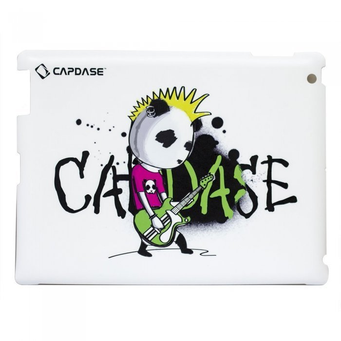 Наклейка для Apple iPad 2/3/4 - Capdase ProSkin Don Rock белая