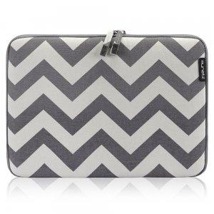 "Чехол-карман для Apple MacBook 13"" - Runetz Soft Sleeve серый (шеврон)"