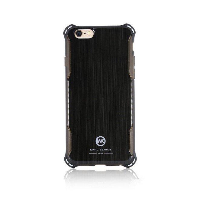 Пластиковый чехол WK Earl чёрный для iPhone 8 Plus/7 Plus