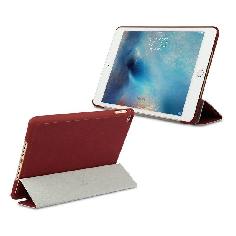 Чехол (книжка) Baseus Simplism красный для iPad Mini 4