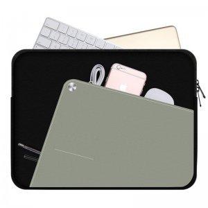 "Чехол-карман для Apple iPad Pro 12,9"" - Baseus Boyie черный + серый"