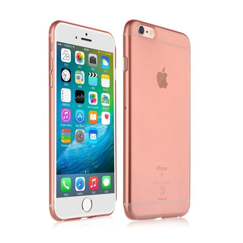 Чехол-накладка для Apple iPhone 6/6S - Baseus Chaumet розовый
