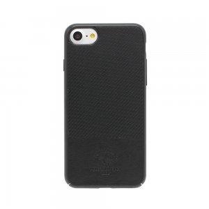 Кожаный чехол Polo Prestige черный для iPhone 8 Plus/7 Plus