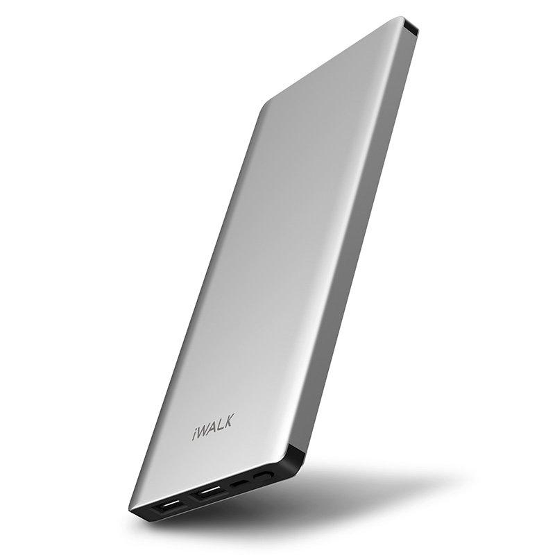 Внешний аккумулятор iWalk Chic 10000mAh серебристый
