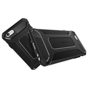 Чехол-накладка для Apple iPhone 6/6S - SGP Rugged Armor чёрный