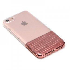 Силиконовый чехол Coteetci Gorgeous розовый для iPhone 8/7
