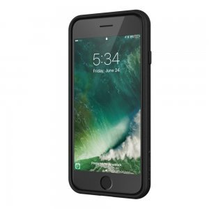3D чехол SwitchEasy Fleur чёрный для iPhone 8/7/SE 2020