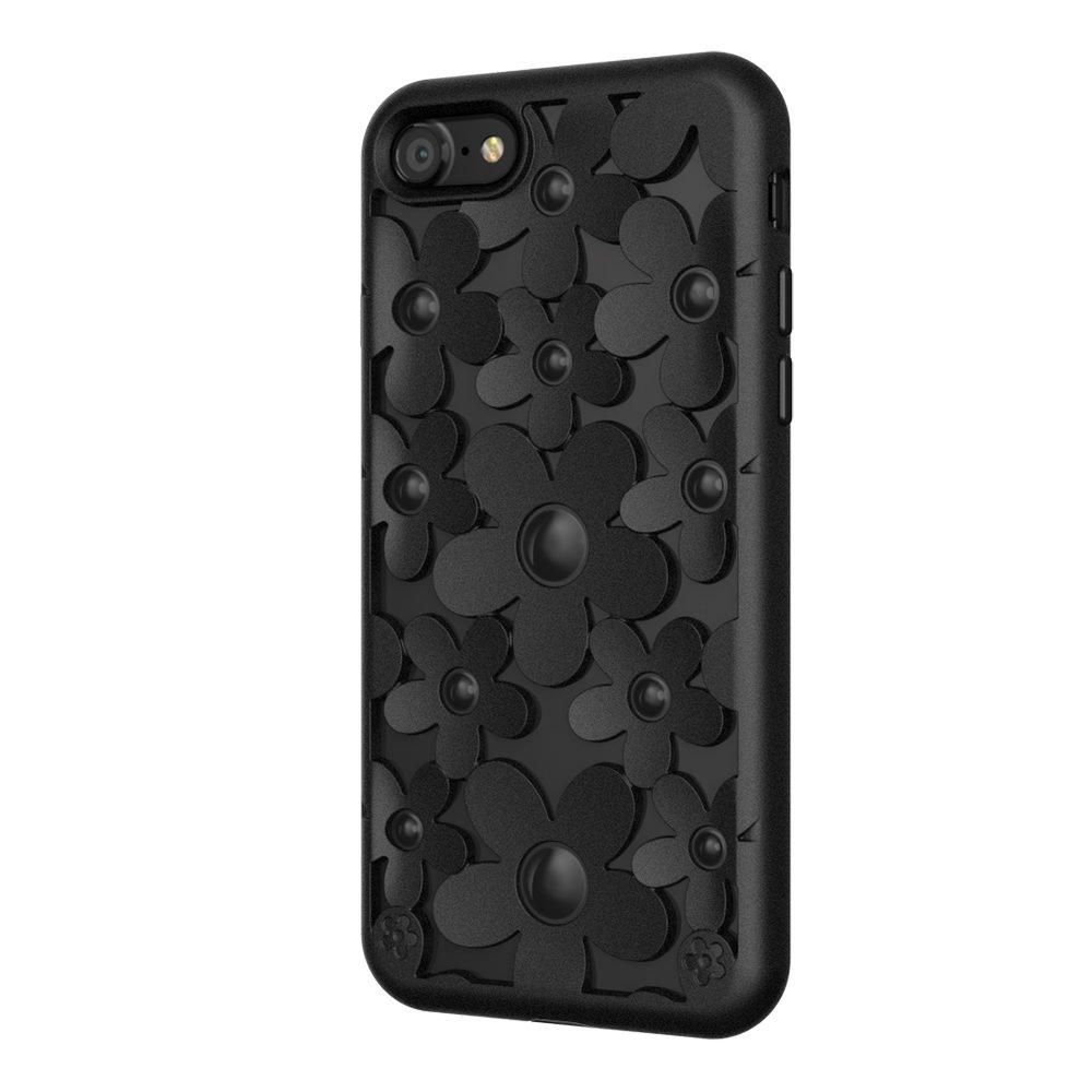 3D чехол SwitchEasy Fleur чёрный для iPhone 8/7