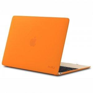 "Чехол-накладка для Apple MacBook 12"" - Kuzy Rubberized Hard Case оранжевый"