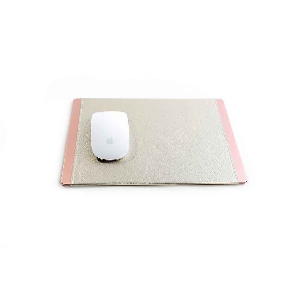 Коврик для мыши COTEetCI розовый + серебристый