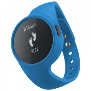 Фитнес браслет iHealth Wireless Activity and Sleep Blue синий