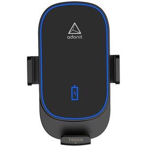 Автомобильная беспроводная зарядка Adonit 15W Wireless Car Charger черная