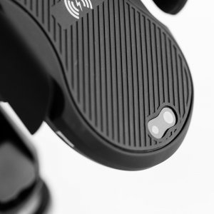 Беспроводное автомобильное зарядное устройство с автоматическим зажимом Adonit черное