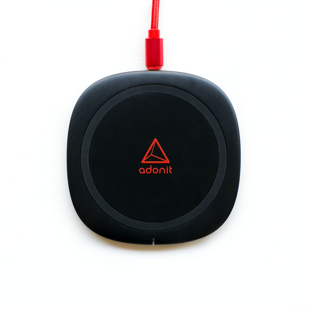 Беспроводное ЗУ Adonit Wireless Fast Charging Pad черное